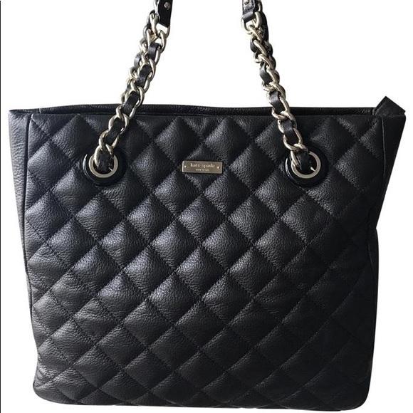 kate spade Handbags - Kate Spade black Gold Coast Sierra Shoulder Tote